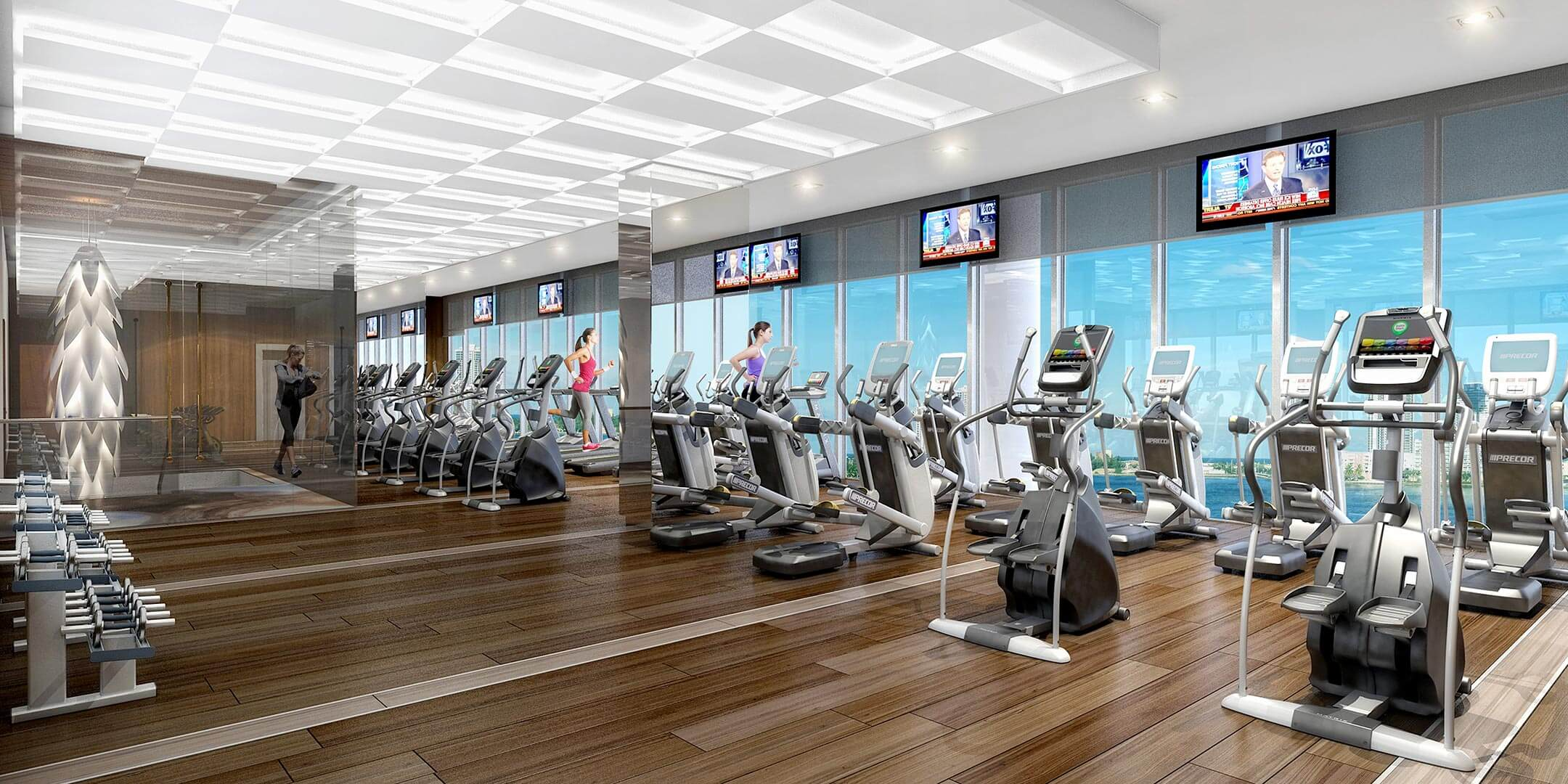 prive at island estates fitness center